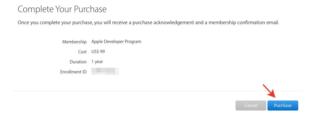 ReadyScript: Создание аккаунта разработчика в Apple Developer